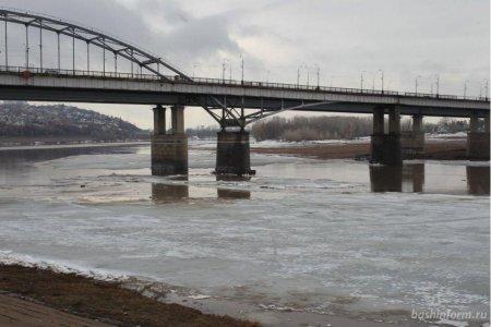 В Уфе из-за холода временно закроют мост через Белую