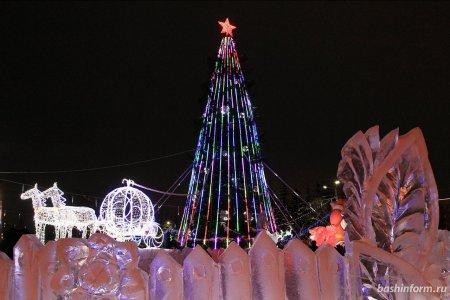 В Уфе к 1 февраля уберут елки и ледовые городки - мэрия