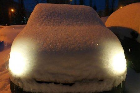 В Уфе из-за снегопада поднялись цены на проезд в такси