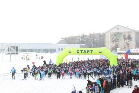 Более пяти тысяч жителей Уфы стали участниками гонки «Лыжня России-2019»