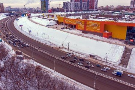 В Уфе в следующем году начнут строить надземный пешеходный переход возле ТРЦ «Планета»