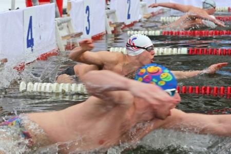 В Уфе соревновались сильнейшие моржи страны