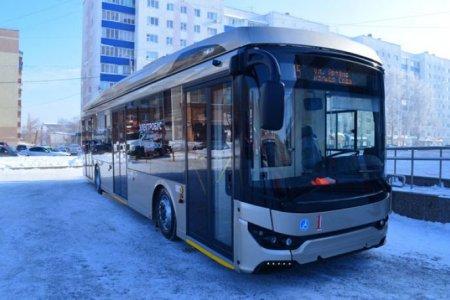 В одном из городов Башкортостана начал ездить электробус
