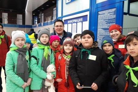 Дети из Сибая вылетели на отдых в Крым
