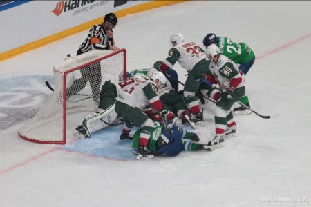 «Салават Юлаев» в овертайме победил «Ак Барс»