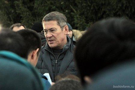 Радий Хабиров и генеральный директор УГМК Андрей Козицын встретятся с жителями Сибая