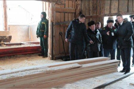 В Башкортостане предприятие перерабатывает до 40 тысяч кубометров древесины в год