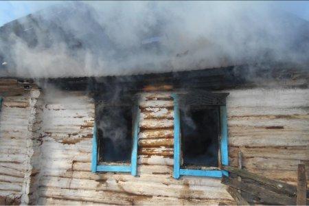 В Шаранском районе Башкортостана сестра спасла из пожара трех братьев