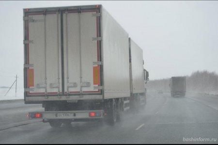 В Башкортостане на трассе М-5 столкнулись 12 автомобилей