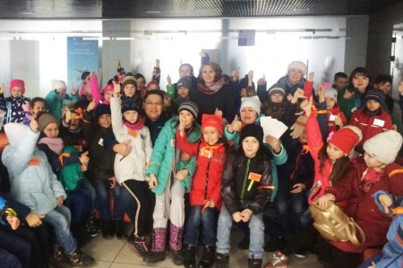 Еще 250 детей из Сибая вылетели на отдых в Крым