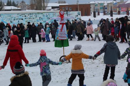 Масленица-2019: жители Башкортостана весело и широко проводили зиму