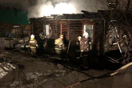 В Башкортостане в сгоревшем бревенчатом доме найдено тело 33-летнего мужчины