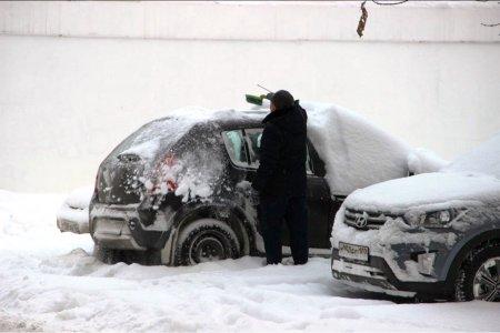 МЧС Башкортостана предупреждает о сильном мокром снеге