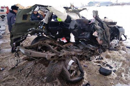 В Башкортостане страшное ДТП унесло жизни двух человек