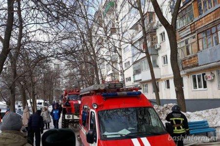 В Уфе из-за пожара на улице Зорге эвакуировали 40 человек