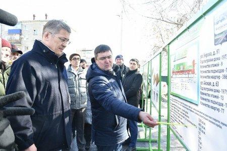 В Уфе начинается благоустройство дворов в рамках программы «Башкирские дворики»