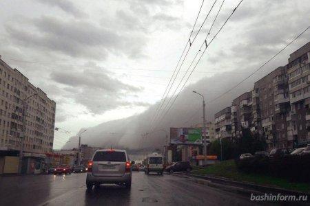 В Башкортостане сохранится неустойчивый характер погоды с усилением ветра до 20 м/с