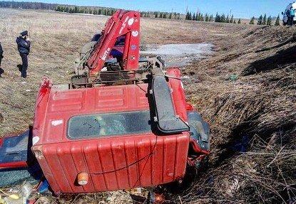 В Башкортостане водитель эвакуатора погиб под колесами своего транспорта