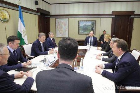 Радий Хабиров обсудил с компанией RAILGO транспортные проекты республики