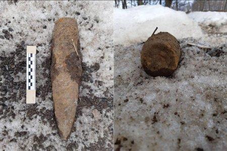В Башкортостане саперы обезвредили взрывоопасный снаряд времен Великой Отечественной войны