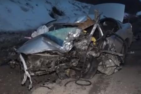 В Башкортостане при столкновении с грузовиком погиб водитель «Kia Spectra»
