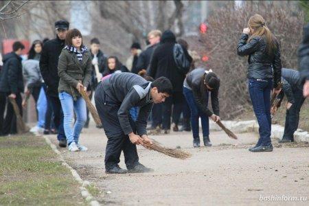 Столичная мэрия объявила акцию «Чистая Уфа»