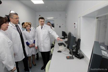 Радий Хабиров посетил Региональный сосудистый центр в Уфе