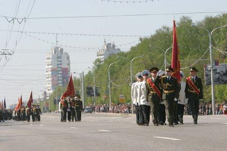 9 мая в Уфе пройдет парад войск Уфимского гарнизона