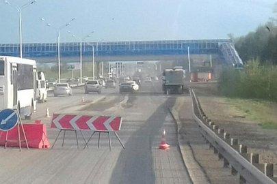 Ремонт дороги Уфа – Аэропорт планируется завершить в июне