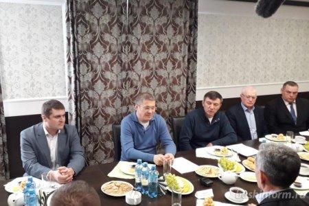 В Аургазинском районе Башкортостана аграрии в шутку попросили у Радия Хабирова дождя