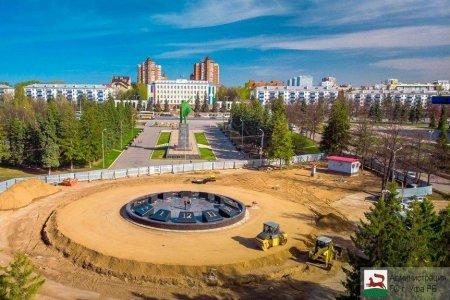 В Уфе фонтан-часы планируют запустить 12 июня