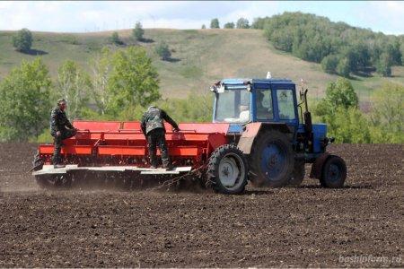 В Башкортостане весенний сев проведен на 60% запланированных площадей