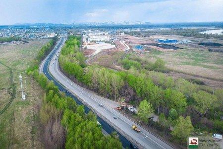 Пропускная способность дороги Уфа – Аэропорт практически исчерпана