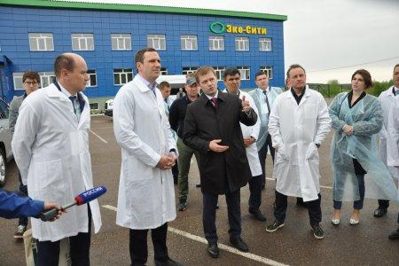 В Башкирии торжественно открыли самый крупный в регионе мусоросортировочный комплекс