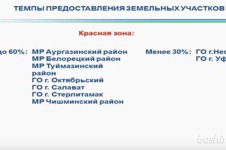 В Башкортостане предлагают компенсировать льготную выдачу земли многодетным семьям