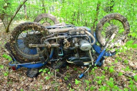 В Башкортостане в лесу найден погибший в ДТП мотоциклист