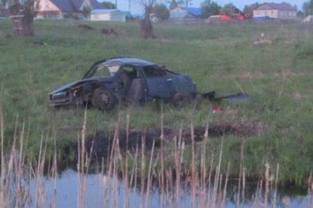 Жительница Башкортостана погибла, вылетев с трассы в кювет