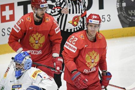 Россия обыграла США и вышла в полуфинал чемпионата мира по хоккею