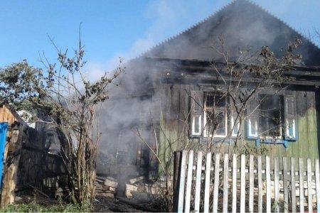 В Башкортостане сгорел одноэтажный дом: погибли три человека