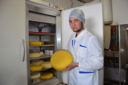 В Хайбуллинском районе Башкортостана открылась сыроварня