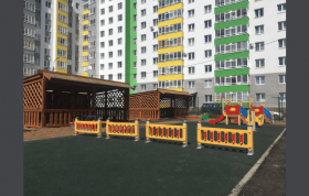 В уфимском Кузнецовском затоне осенью 2019 года распахнет свои двери новый детский сад