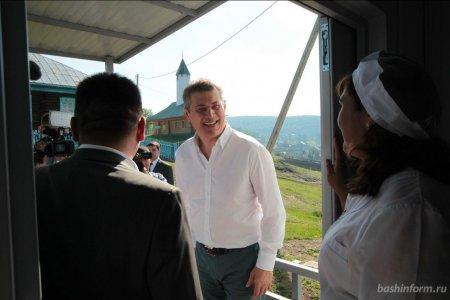 Радий Хабиров познакомился с жизнью Бурзянского района