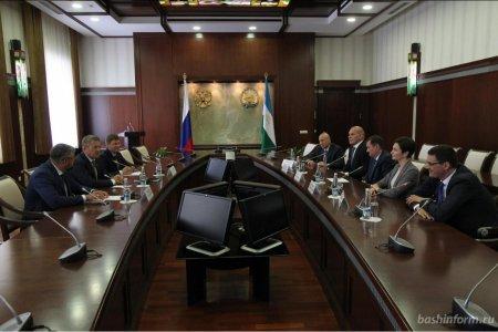 Радий Хабиров встретился с олимпийскими чемпионами, приехавшими в Уфу на открытие МДИ