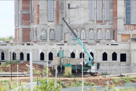 В Уфе возобновилось строительство мечети Ар-Рахим