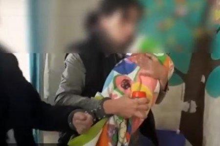 СКР опубликовал видео задержания жительницы Башкортостана, убившей своего ребенка