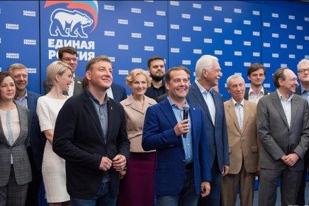 Дмитрий Медведев пожелал Радию Хабирову больших успехов в развитии Башкортостана