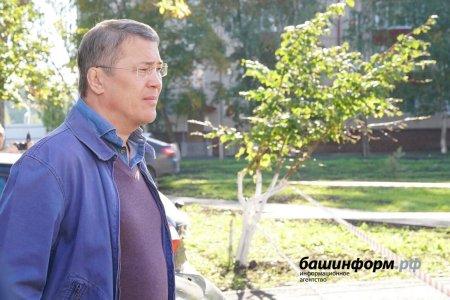Радий Хабиров пообещал прийти в каждый двор и подъезд Башкортостана