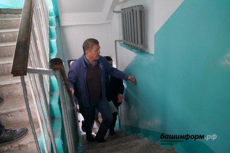 Радий Хабиров о ремонте подъездов и «Башкирских двориках»: Уже пошло получше, научились
