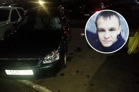В Башкортостане из окна выпал молодой человек, удар пришелся на припаркованную машину