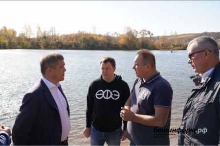 Руководитель Башкортостана: В Сипайлово должна появиться красивая и современная набережная